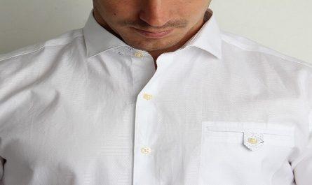 white shirt for men