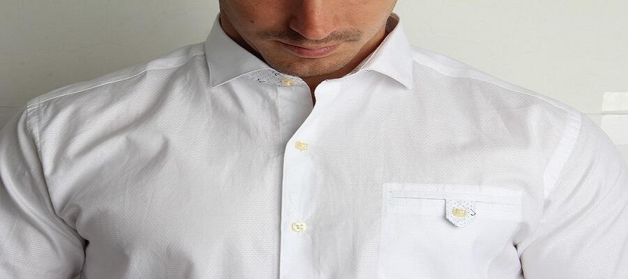 ways to style white shirt for men