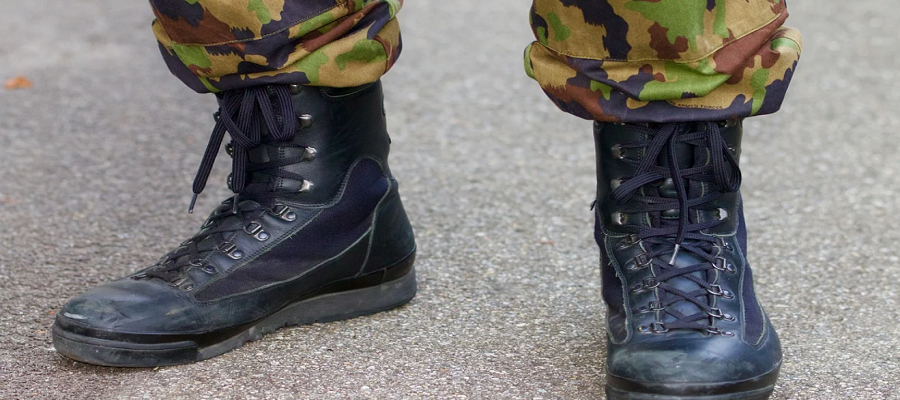 benefits of military boots
