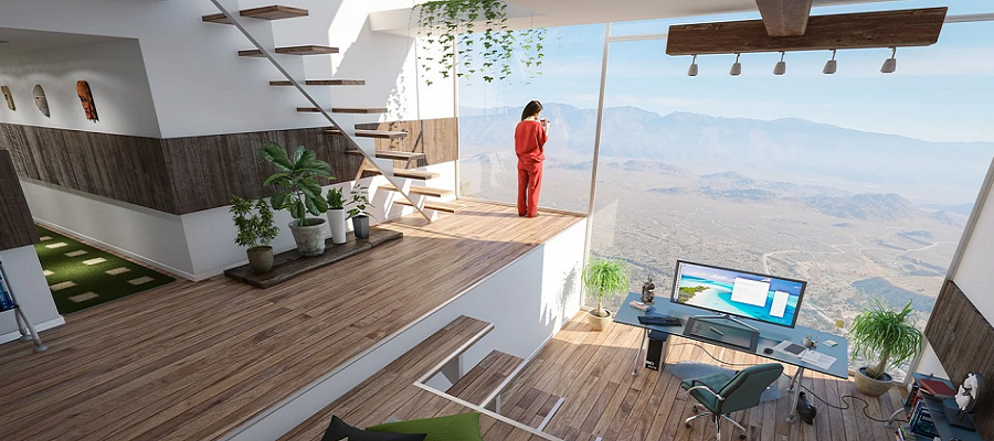 designing homes and offices